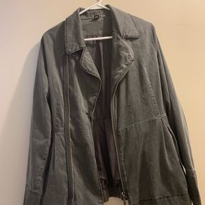 Roxy Distressed Grey Jacket
